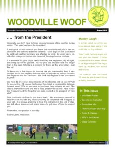 Woodville Woof August 2016